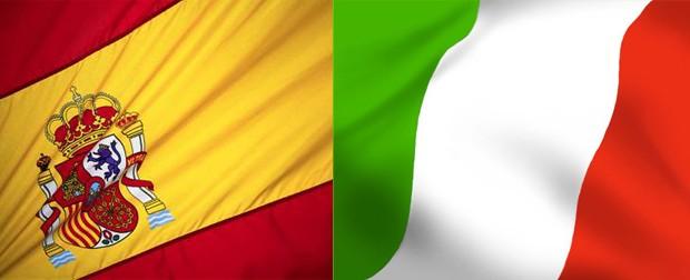 SPAGNA e ITALIA IL DERBY TRA POVERI CONTINUA