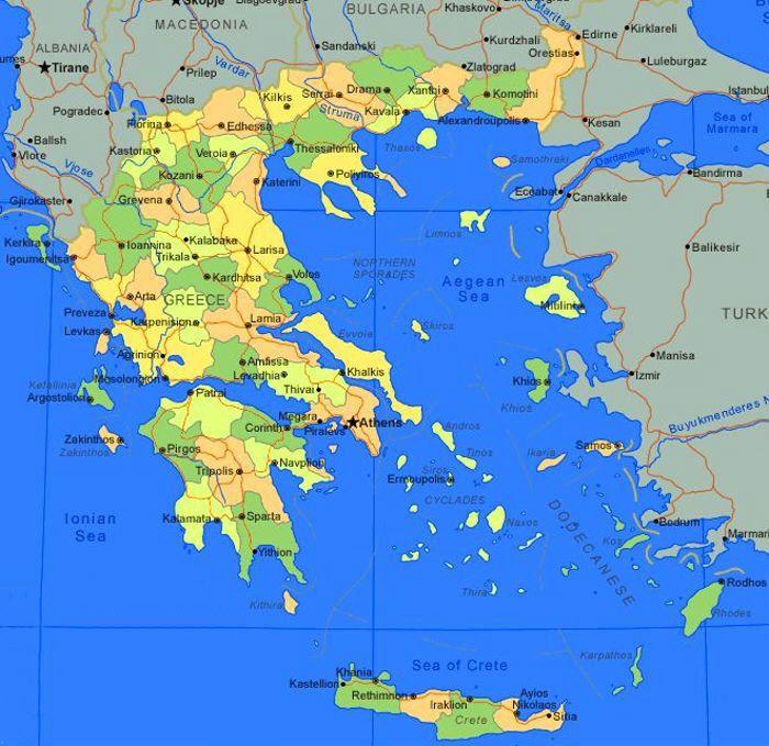 Pinguinoeconomico grecia tanti compiti svolti ma molto for Cartina della grecia antica da stampare