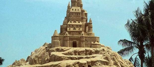 foto castello di sabbia